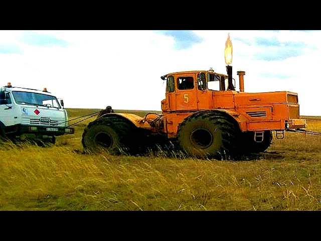 ТРАКТОР ПРОСТО ЗВЕРЬ! МОЩЬ и СИЛА! ТРАКТОР КИРОВЕЦ К-700 и К-701 / Tractor Kirovets K-700, K-701