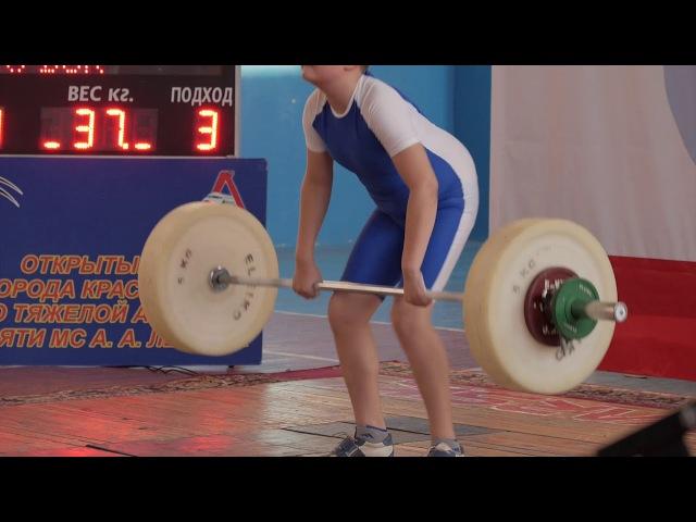 ТЯЖЕЛАЯ АТЛЕТИКА турнир памяти Лыкова 2017