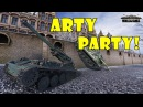 World of Tanks Funny Moments ARTY PARTY 52