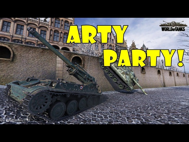 World of Tanks - Funny Moments | ARTY PARTY! 52