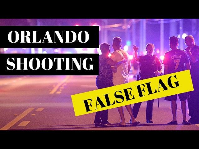 Orlando Pulse Night Club Shooting FALSE FLAG STAGED HOAX CRISIS ACTORS