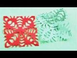 How To Make Schneeflocken basteln mit Papier - Basteln im Winter -Mr.Paper crafts