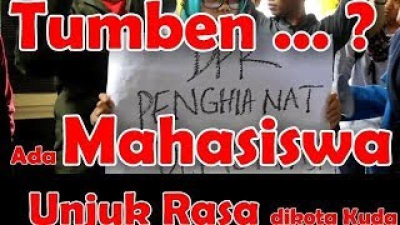 Demo Aktivis Mahasiswa Tolak Revisi MD3 RICUH