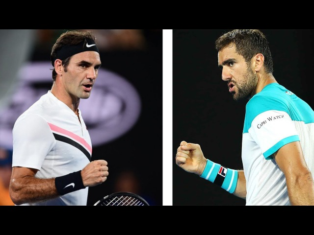 Roger Federer Vs. Marin Cilic - 12 Minutes of INSANE Rallies (HD)