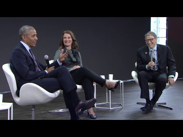 A Conversation with Barack Obama, Bill Gates and Melinda Gates GOALKEEPERS17 » Freewka.com - Смотреть онлайн в хорощем качестве