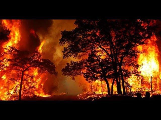 6.12.2017/Крупный пожар в США штат Калифорния.Пожар добралась до мегаполиса Лос-Андж...