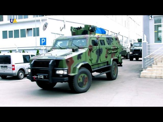 Сделано в Украине Бронированный автомобиль Козак