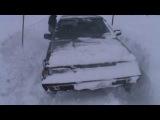 subaru leone snow offroad part1