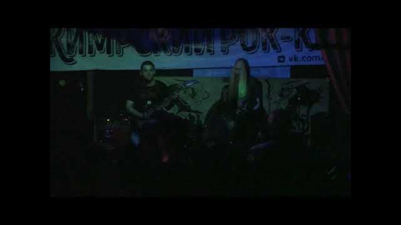 Splatterums Black Pastor Live in Ludvig Kimry 14 10 2017