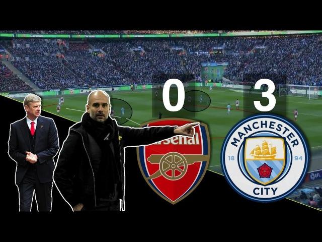 Первый трофей Пепа в Англии и ВЕНГЕР АУТ Тактический анализ Арсенал Манчестер Сити