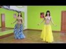 Еще больше движений из восточных танцев с шоу студией Жасмин