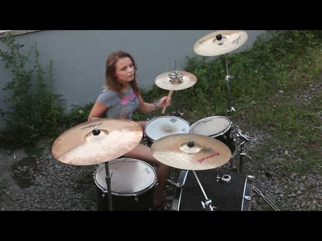 Foo Fighters - Arlandria (drum cover Виктория Ткаченко)