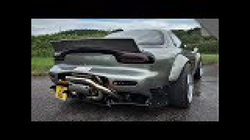 THE MOST FURIOUS Mazda RX7's You Have Ever Seen 😵