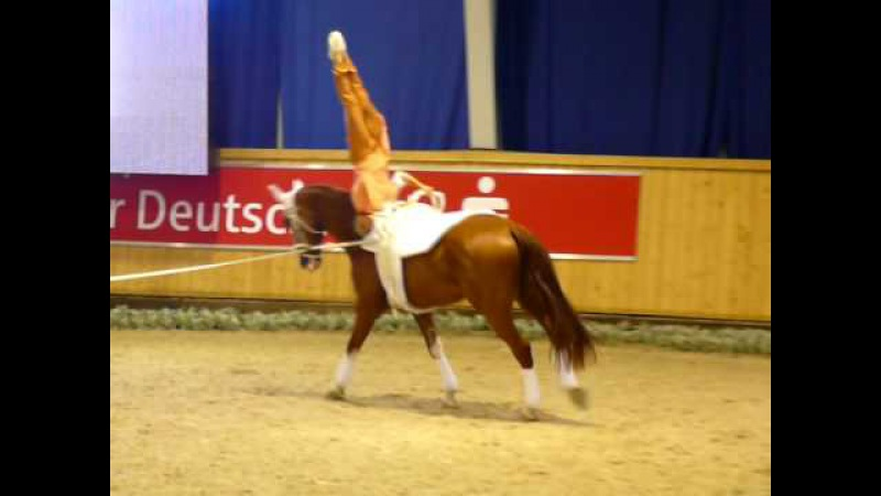 Nicola Stroh Vaulting Freestyle, Aachen 2008
