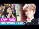 [K-POP] IDOLS SURPRISING FANS (EXO, Twice, Exid, Redvelvet, PSY etc.)