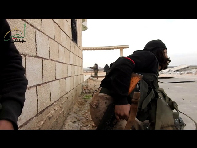 Army of victory Burst and liberate the town of Khoain in the southern countryside of Idlib