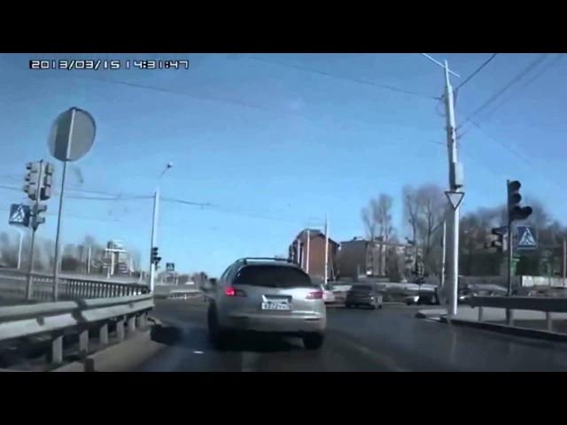 Смешные ДТП Мотоаварии с юмором подборка Funny incidents with humor
