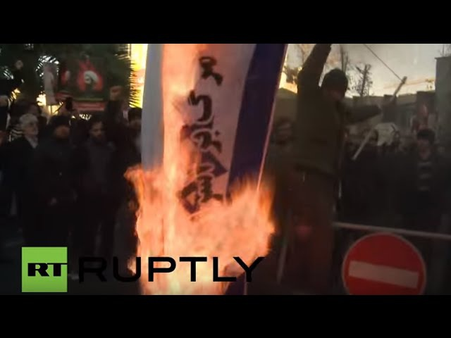 Iran: Protests against Saudi execution of top Shia cleric continue in Tehran