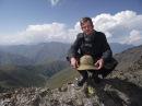 Пересечение Высочайшего Ацунтского перевала Грузии 3431 м