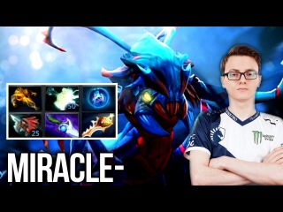 Miracle Weaver WTF?! Damage - Diffusal Blade + Manaburn Talent - Dota 2