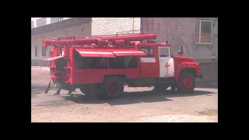 м. Одеса: рятувальники провели навчальне гасіння пожежі в закладі з масовим пере...