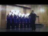 Музыка В. Булюкин «Достойно есть». Исп. Академический студенческий хор