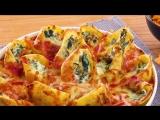 Фаршированные Ракушки с сыром и шпинатом. Вкуснейший рецепт без мяса.
