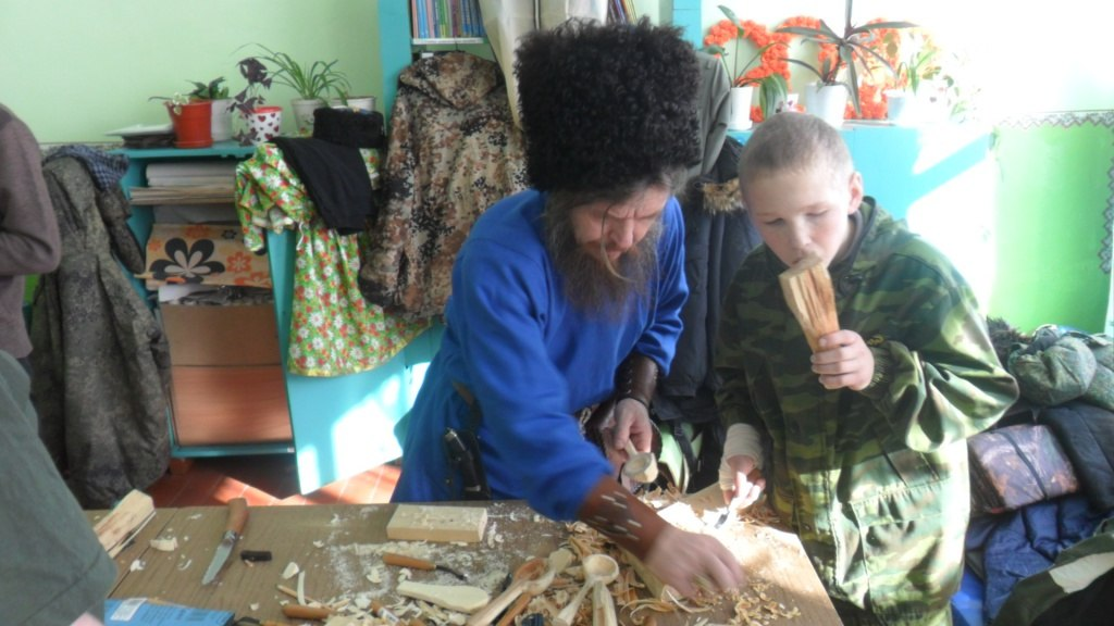 «Казачий дозор» - «Роль традиционных народных ремёсел в воспитании» 8eJFa0TD-r0