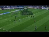 FIFA18 Ранолдо цепляется за мяч Рональду забивает гол