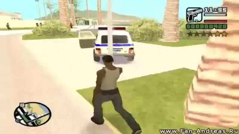 GTA San Andreas Russian Edition (2010) | Gameplay ENB Off | Global Mods