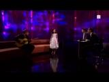 Шикарное исполнение 7-летней девочкой песни Фрэнка Синатры
