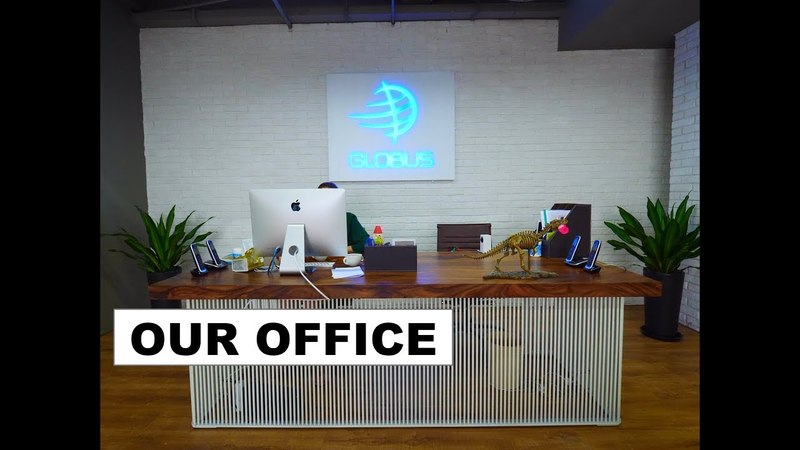 Office of the company Globus, Guangzhou, Foshan, China.