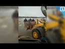 Трактор-такси в Беларуси
