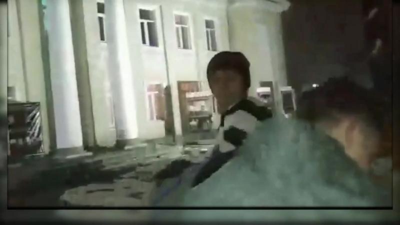 Великий Кыргизский боксёр