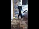 моя девушка танцует шафл