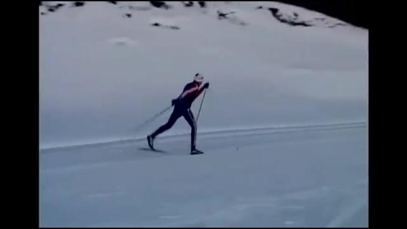 Школа беговых лыж. Урок №6- техника скользящего шага
