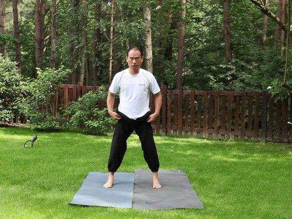 Apšilimo pratimai prieš kuksando kovos menų treniruotę