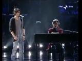 Fabrizio Moro e Gaetano Curreri - Eppure mi hai cambiato la vita (Sanremo 2008)