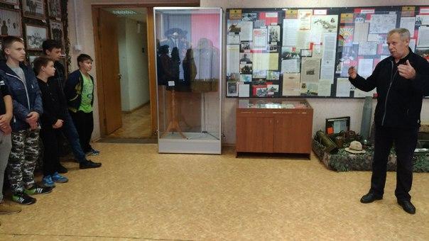 Сегдня, ученики 8 А и 8 Б классов посетили экспозицию в ОКЦ, посвященн
