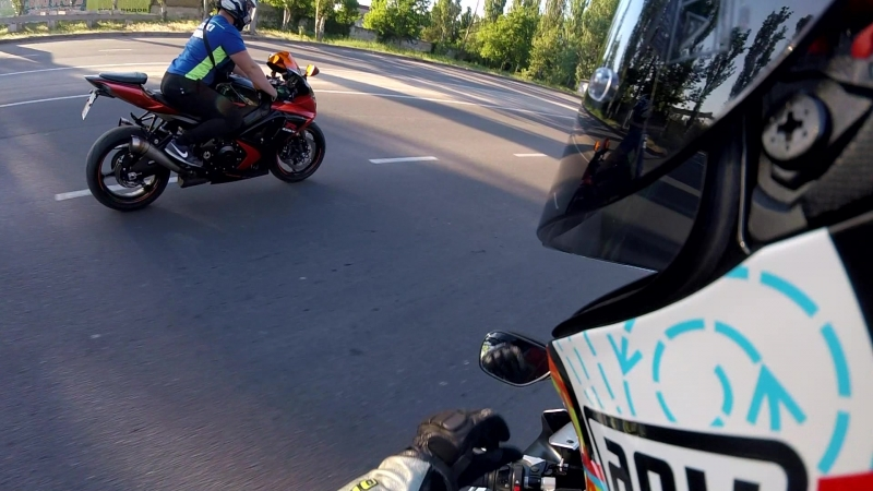 Kherson. Crazy riders