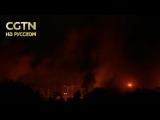 Военно-воздушные силы Израиля нанесли удары по 10 целям в секторе Газа