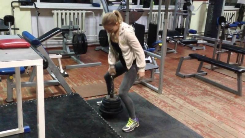 Diana Krahmatova - 41,25kg Jug replic (49,5kg b.w.)