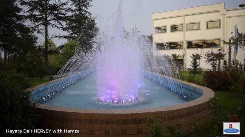 NG Sapanca - 01 - Havuzdaki Suların Dansı | Sulardaki Renk Çümbüşü | Hayata Dair HERŞEY with Hamza