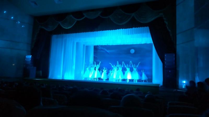 Шопениана театра Кремлёвский балет в рамках Фестиваля АРТ ОКНО в Губкине