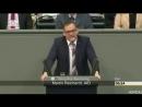 Wir bedauern das Aussterben der Deutschen AfD Martin Reichardt im Bundestag
