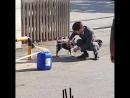 171020 Юн Хён Мин на съёмках дорамы «Не верьте ей/Don't Believe Her». («Суд ведьмы»)