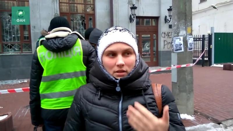 В Киеве начались погромы под лозунгами Смерть России и Убей жидов
