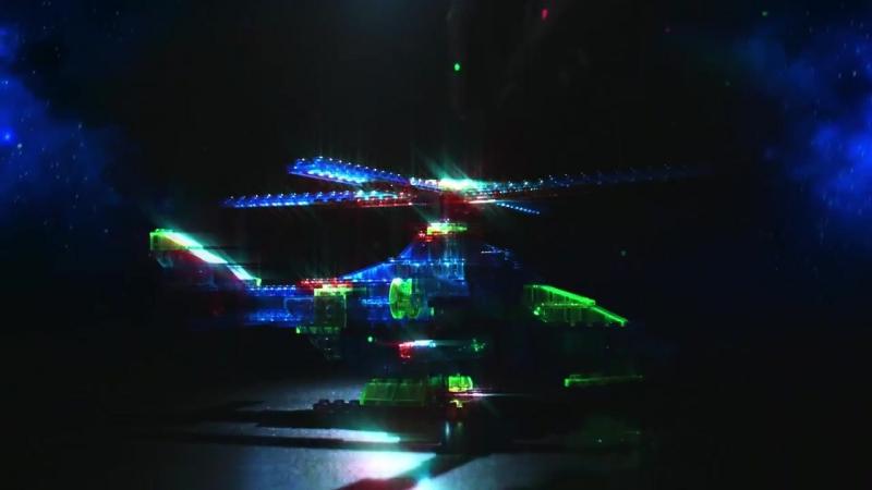 Серия Светящиеся конструкторы от Crystaland