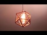 Лампа в стиле индастриал