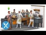 The Sims 4 В ресторане | Игровые приставки